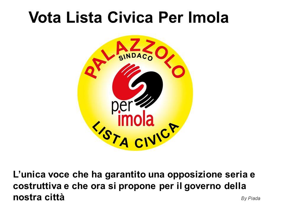 Vota Lista Civica Per Imola