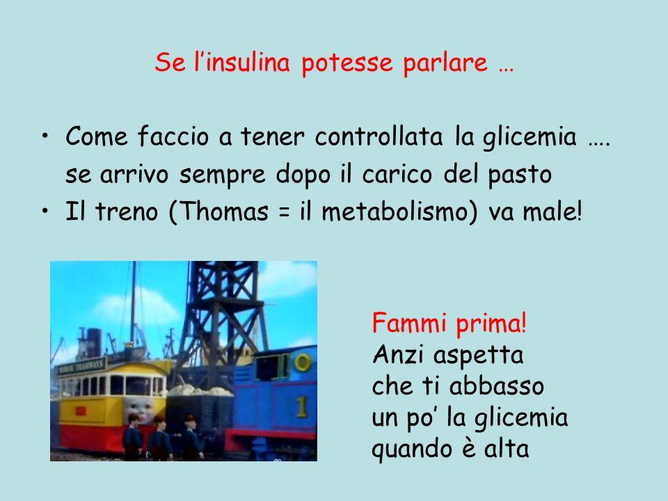 Se l'insulina potesse parlare …