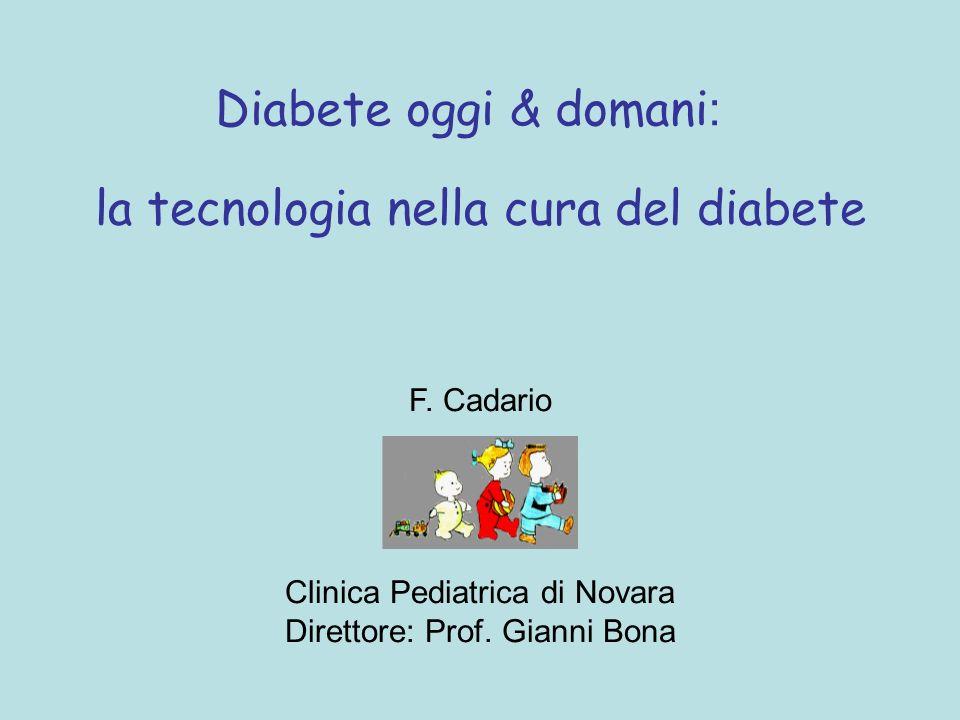la tecnologia nella cura del diabete