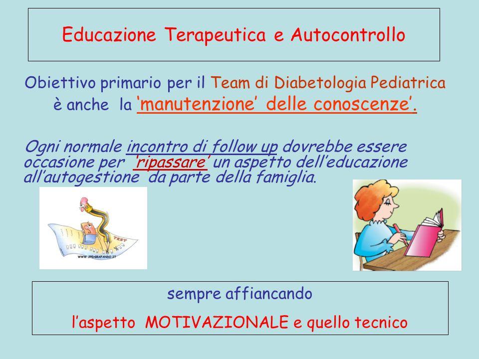 Educazione Terapeutica e Autocontrollo