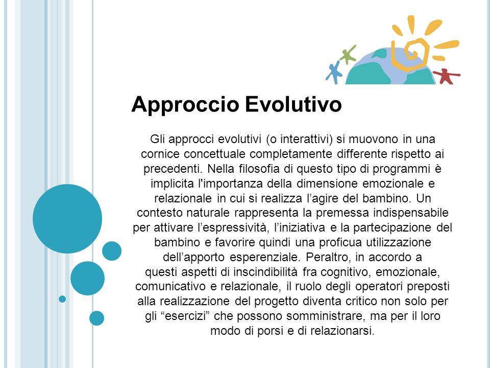 Approccio Evolutivo