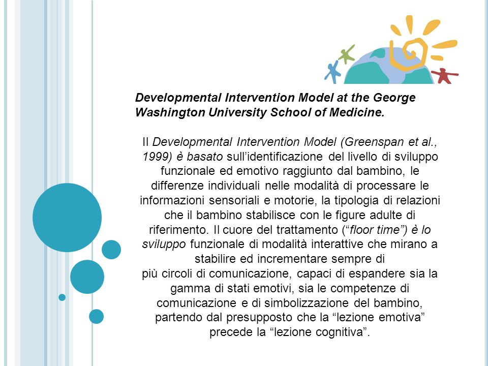 Developmental Intervention Model at the George Washington University School of Medicine.