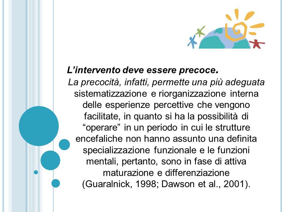 (Guaralnick, 1998; Dawson et al., 2001).