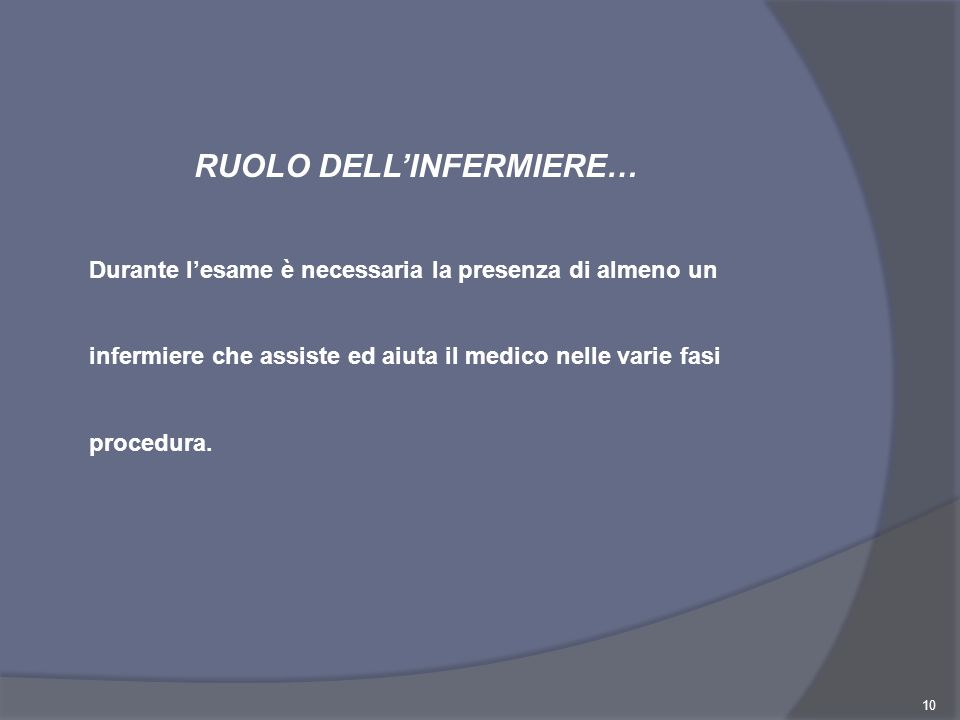 RUOLO DELL'INFERMIERE…