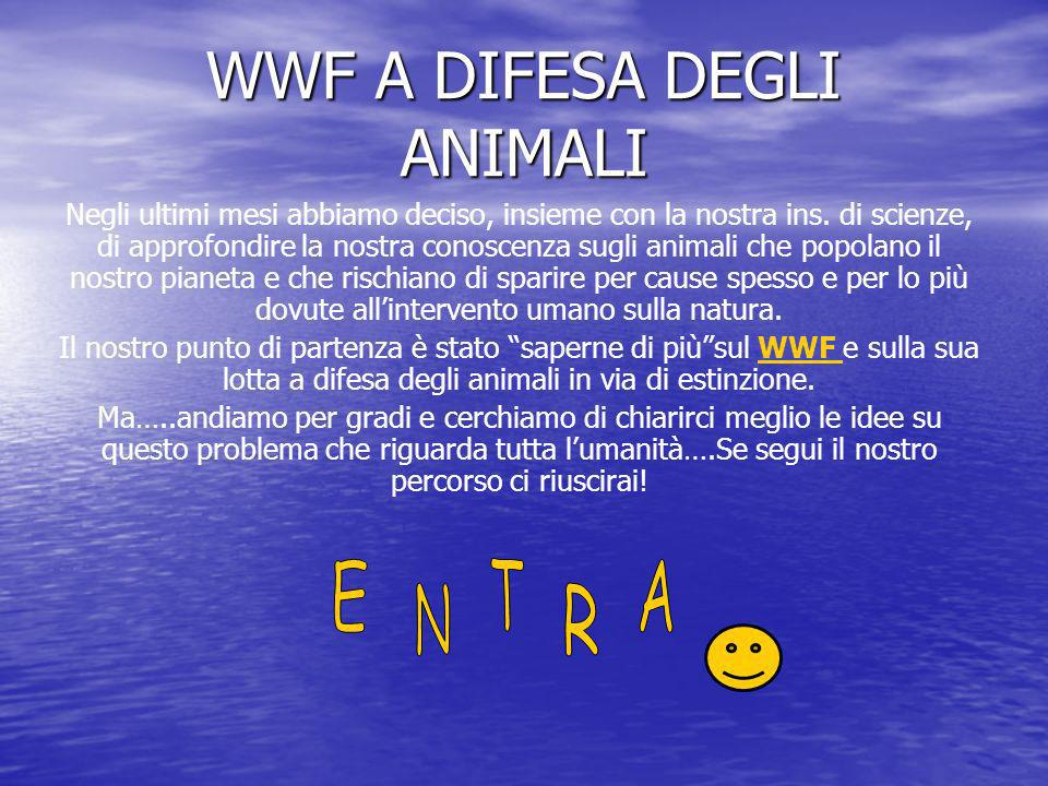 WWF A DIFESA DEGLI ANIMALI