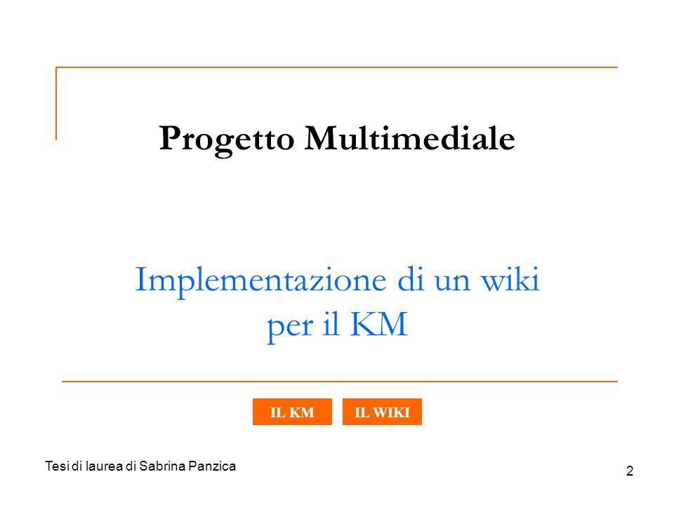 Progetto Multimediale