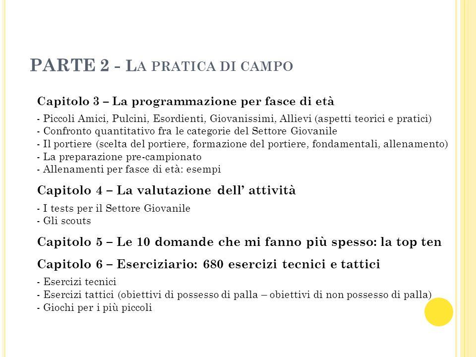 PARTE 2 - La pratica di campo