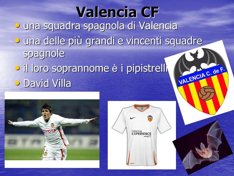 Valencia CF una squadra spagnola di Valencia