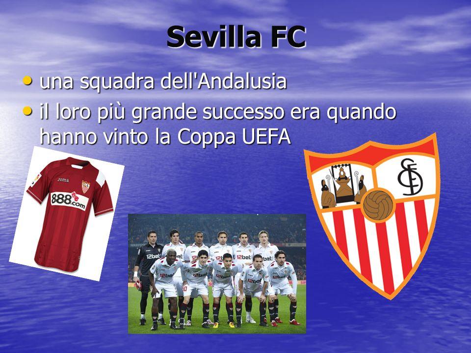 Sevilla FC una squadra dell Andalusia