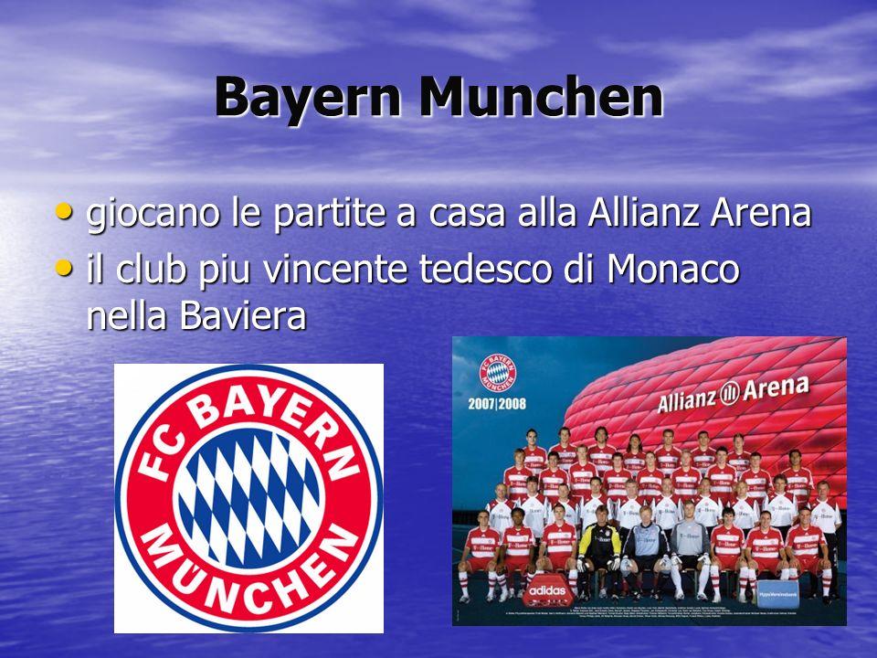 Bayern Munchen giocano le partite a casa alla Allianz Arena