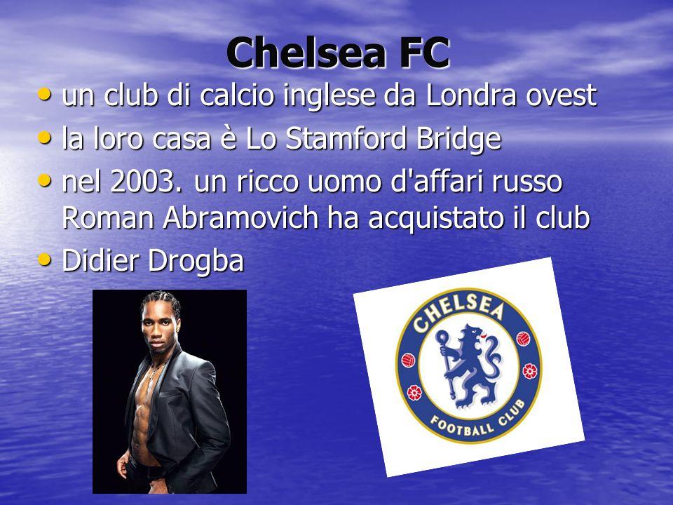Chelsea FC un club di calcio inglese da Londra ovest