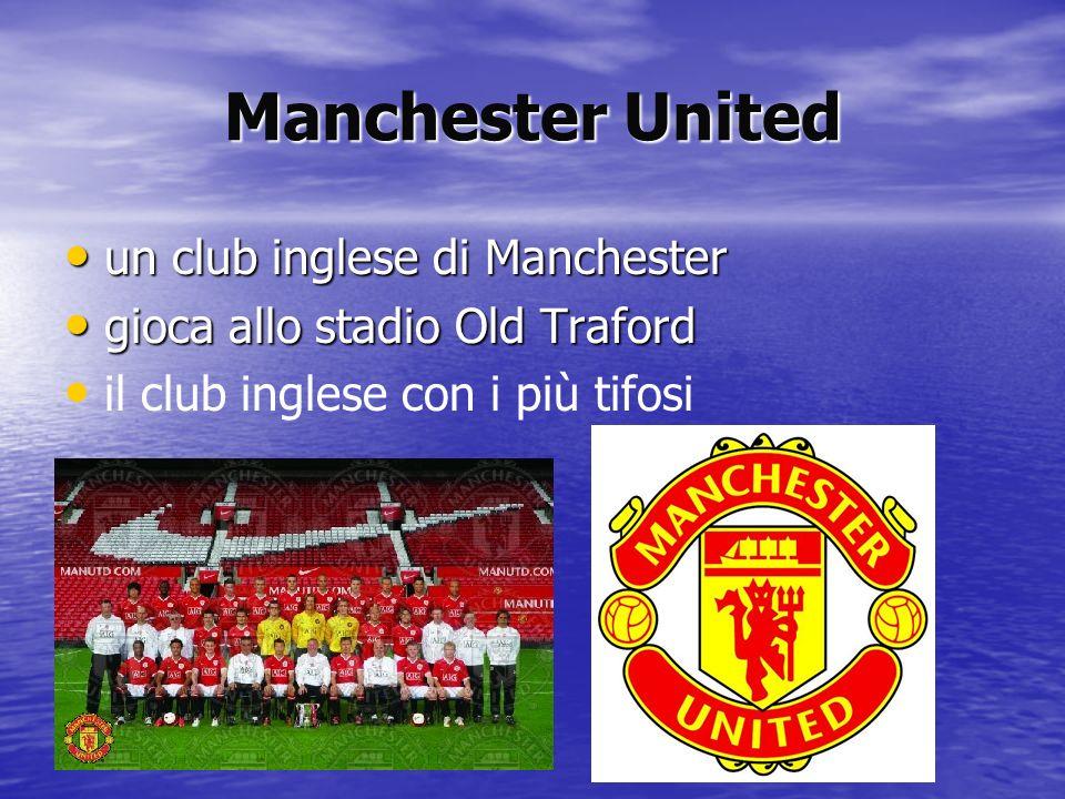 Manchester United un club inglese di Manchester