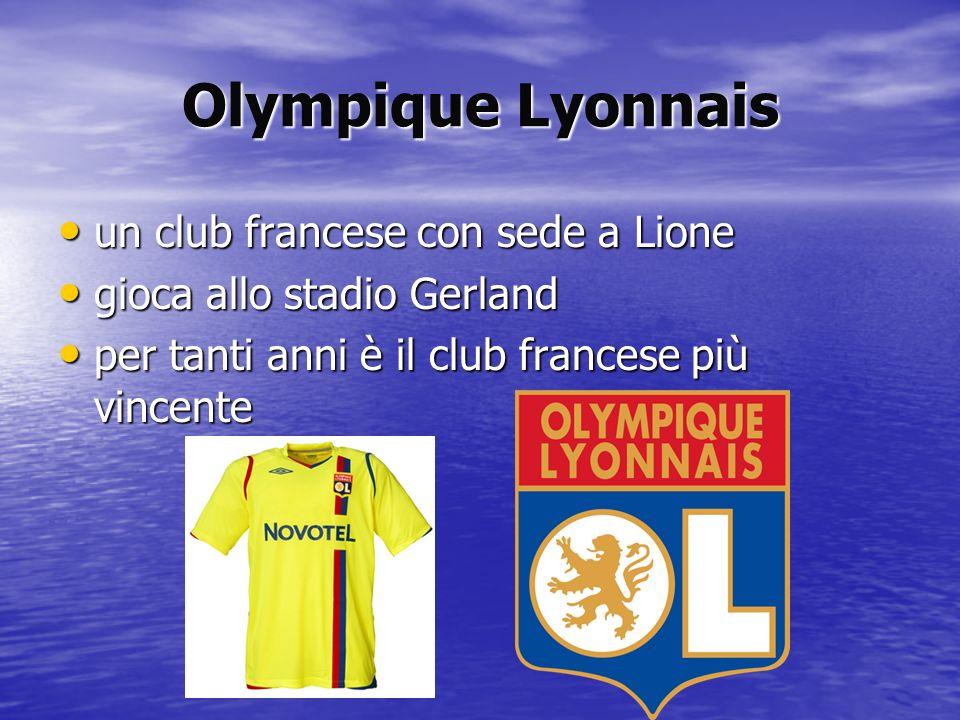 Olympique Lyonnais un club francese con sede a Lione