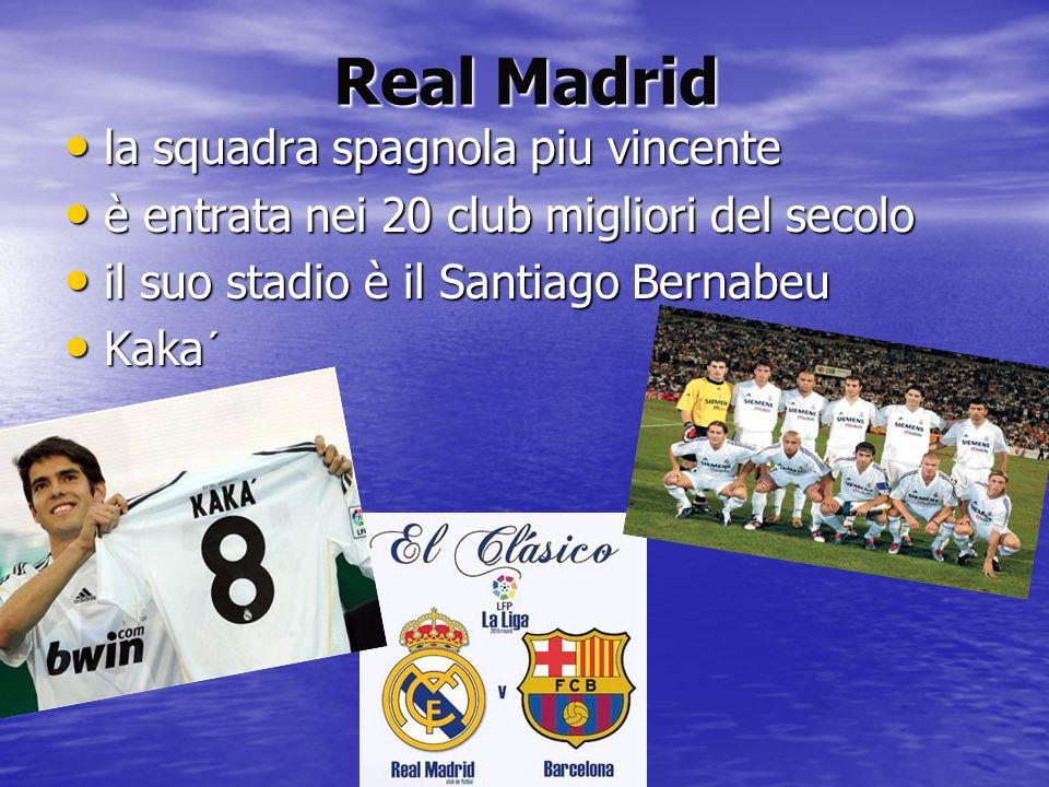 Real Madrid la squadra spagnola piu vincente