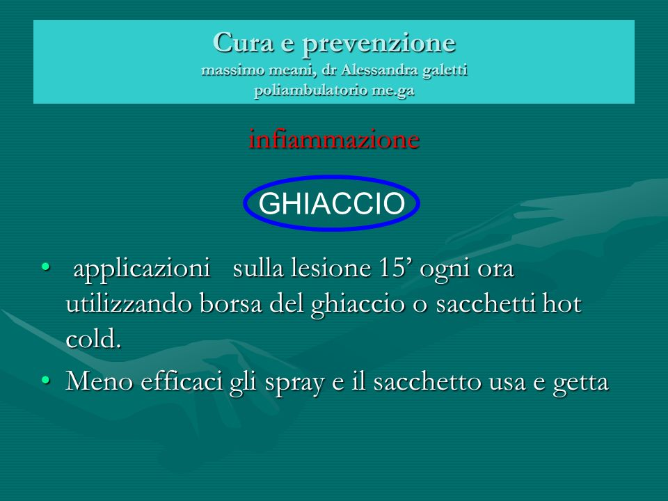 Cura e prevenzione massimo meani, dr Alessandra galetti poliambulatorio me.ga