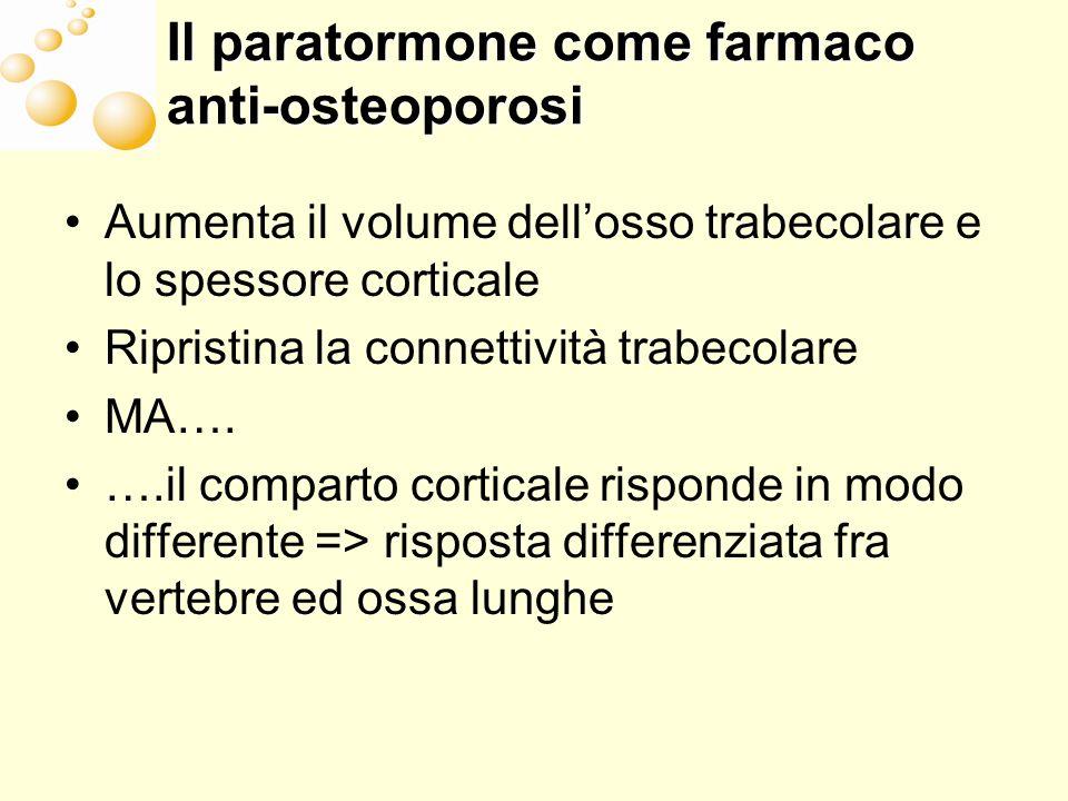 Il paratormone come farmaco anti-osteoporosi