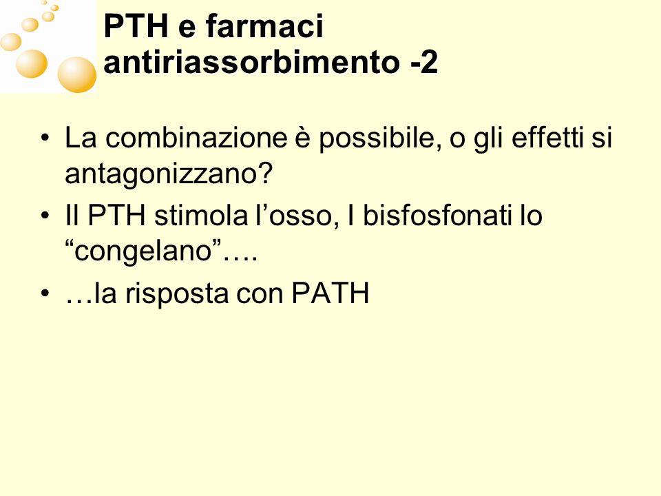 PTH e farmaci antiriassorbimento -2