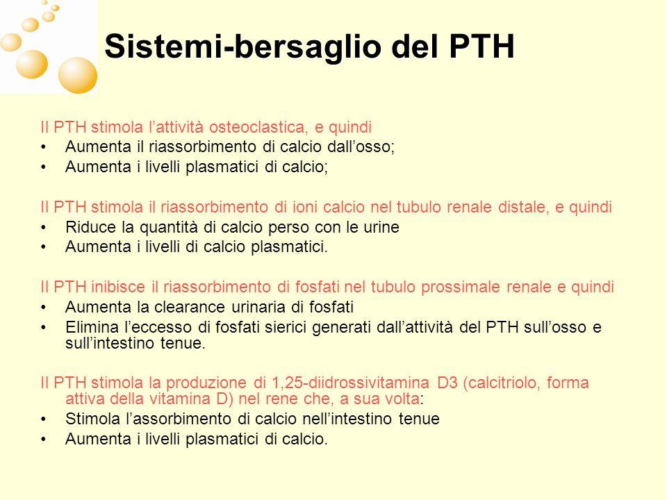 Sistemi-bersaglio del PTH