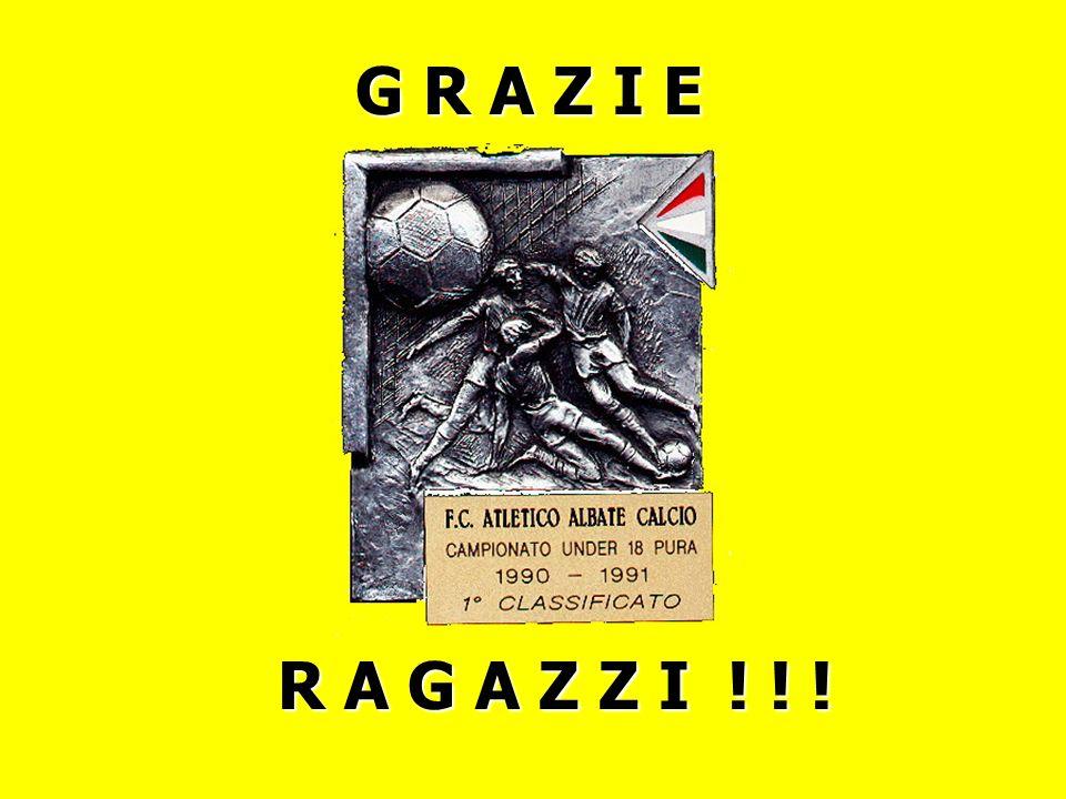 G R A Z I E R A G A Z Z I ! ! !