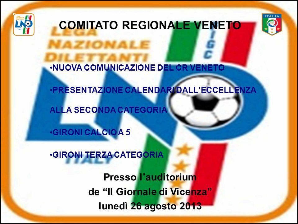 COMITATO REGIONALE VENETO de Il Giornale di Vicenza