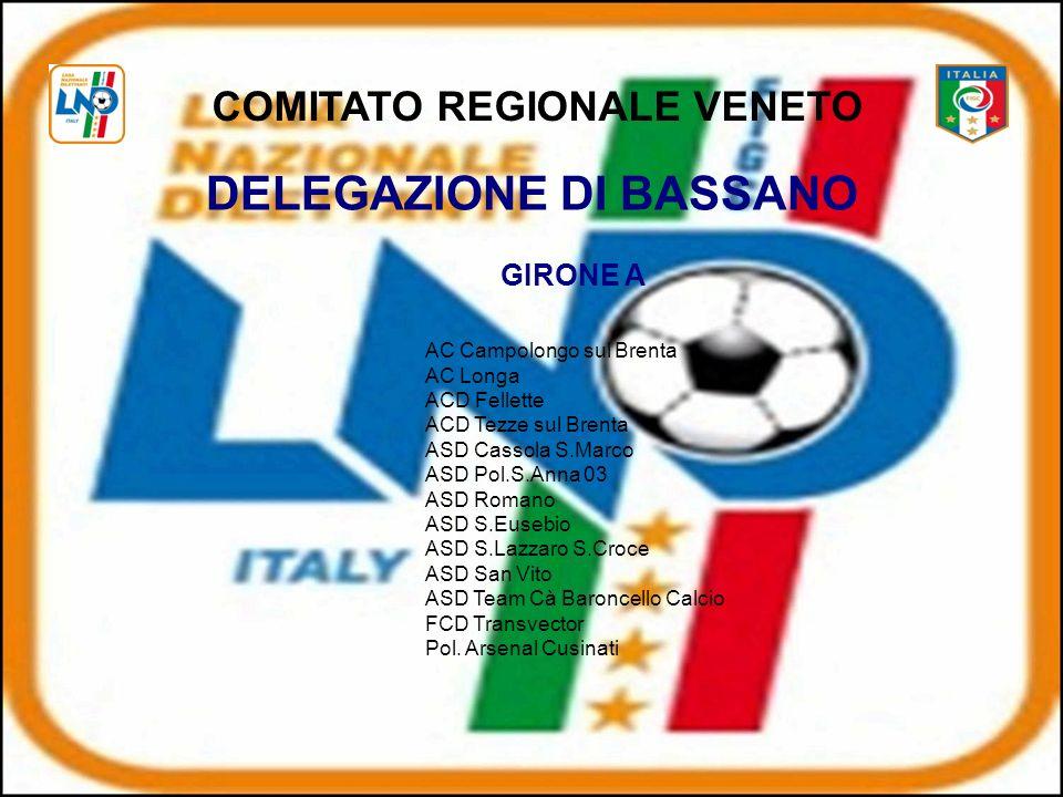 COMITATO REGIONALE VENETO DELEGAZIONE DI BASSANO