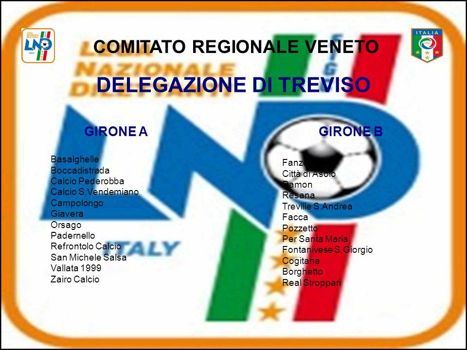 COMITATO REGIONALE VENETO DELEGAZIONE DI TREVISO