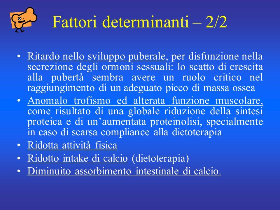 Fattori determinanti – 2/2