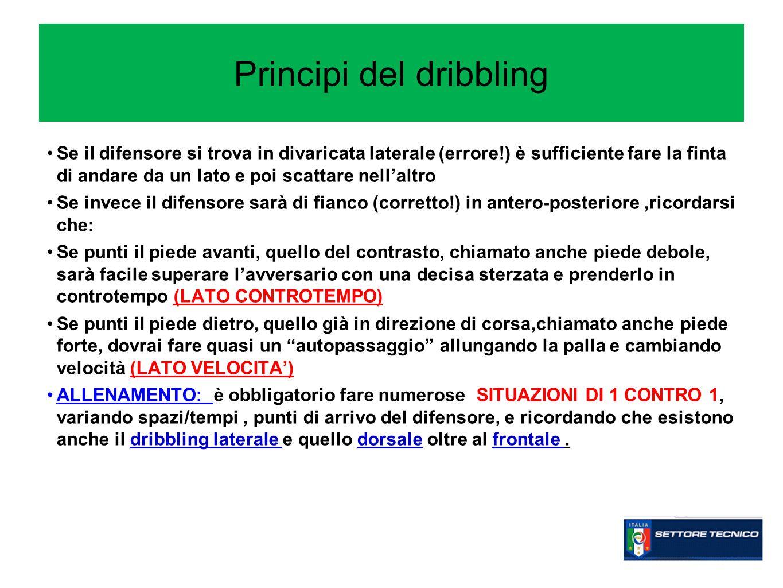 Principi del dribbling