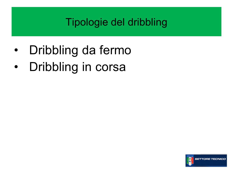 Tipologie del dribbling