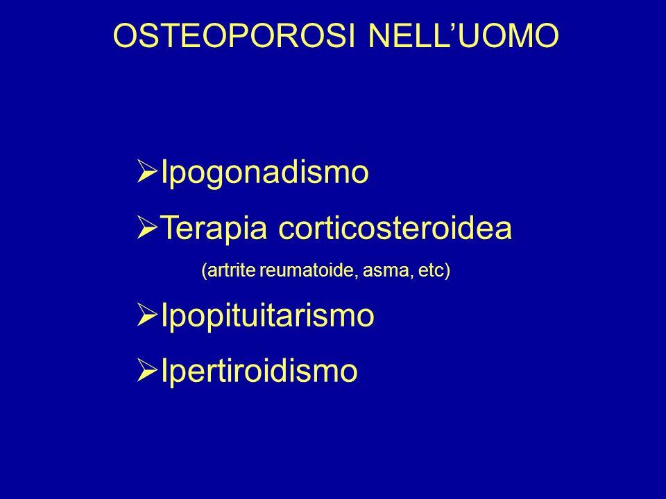 OSTEOPOROSI NELL'UOMO