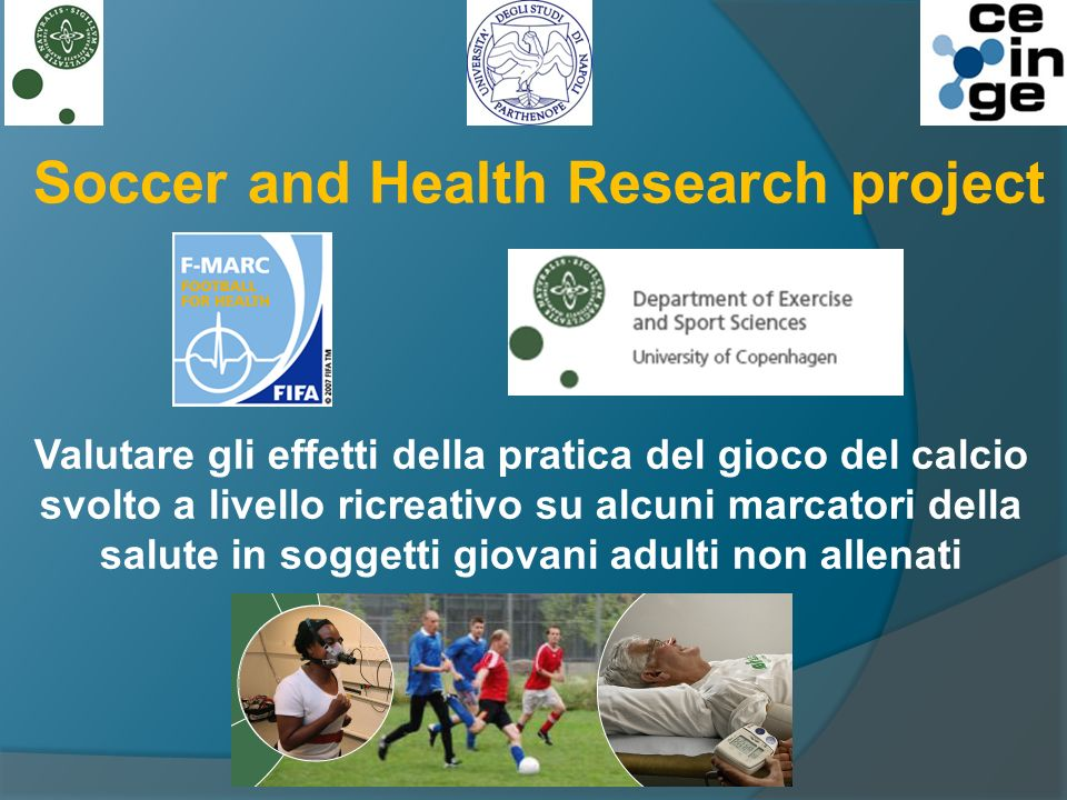 Soccer and Health Research project