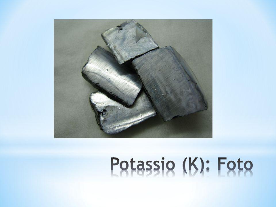 Potassio (K): Foto