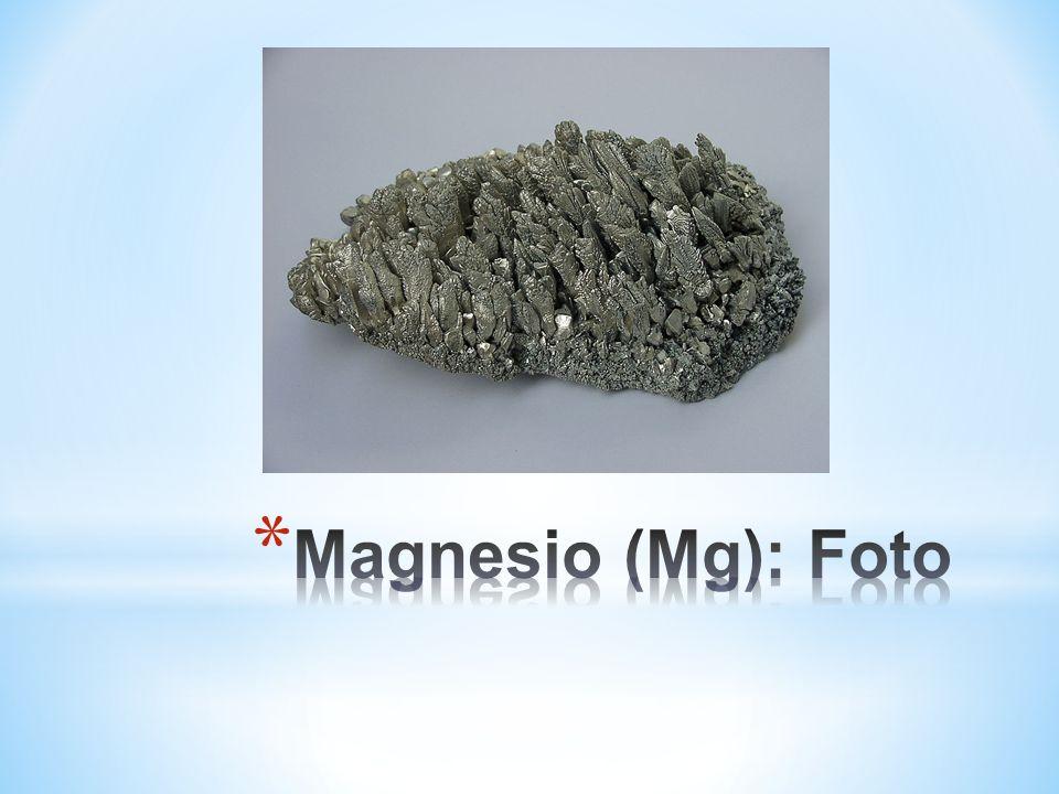 Magnesio (Mg): Foto