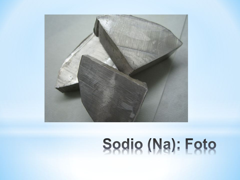 Sodio (Na): Foto