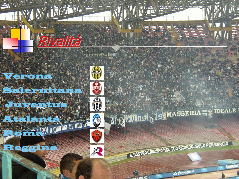 Rivalità Verona Salernitana Juventus Atalanta Roma Reggina