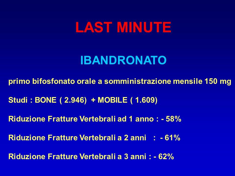 LAST MINUTE IBANDRONATO