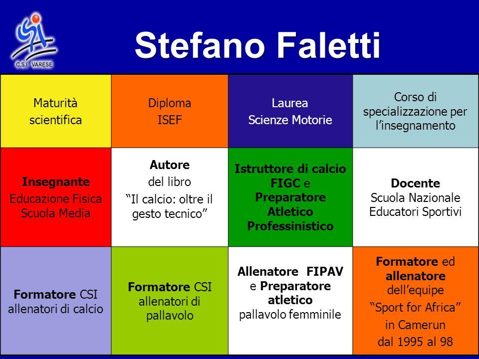 Stefano Faletti Maturità scientifica Diploma ISEF Laurea