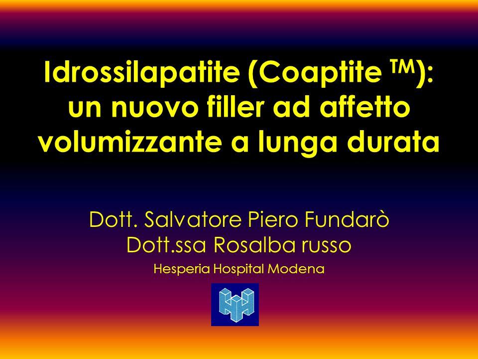 Idrossilapatite (Coaptite TM): un nuovo filler ad affetto volumizzante a lunga durata