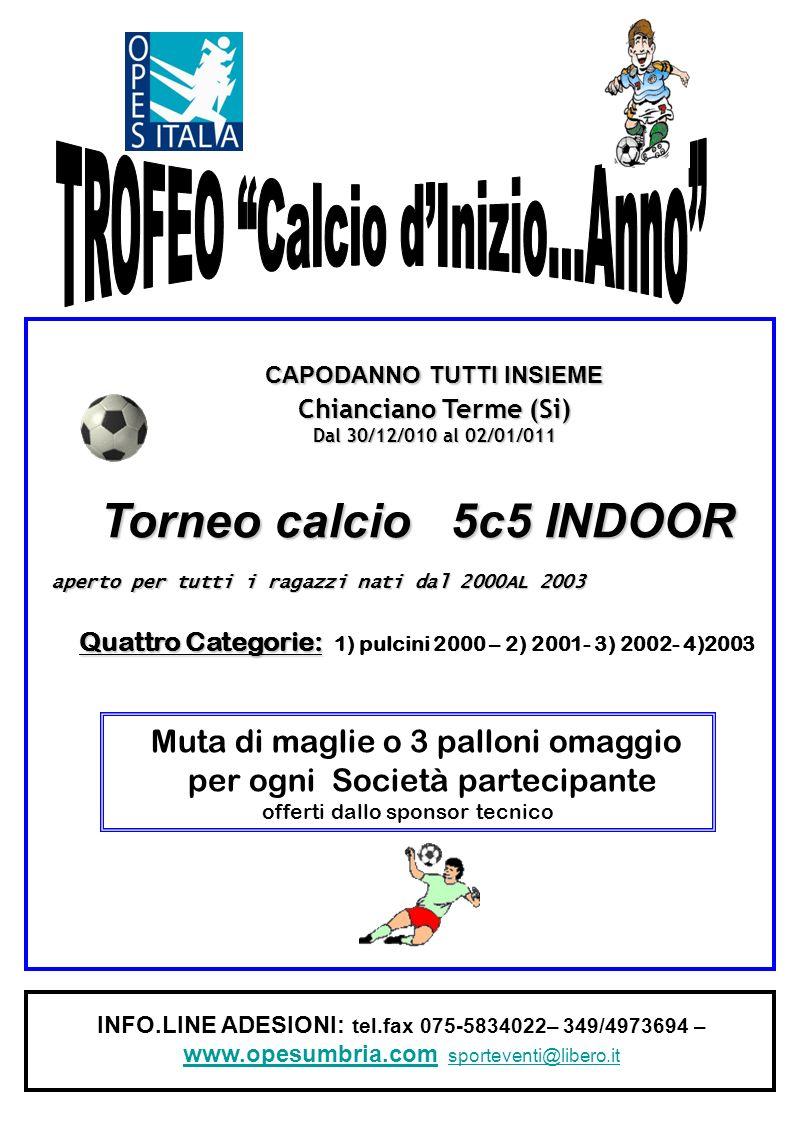 TROFEO Calcio d'Inizio…Anno