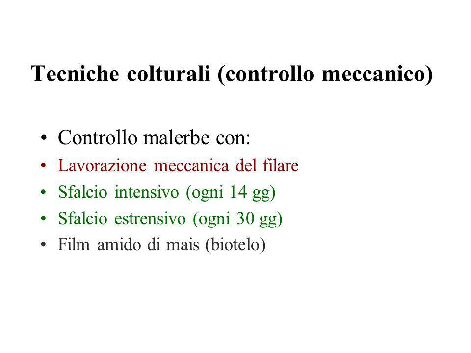 Tecniche colturali (controllo meccanico)