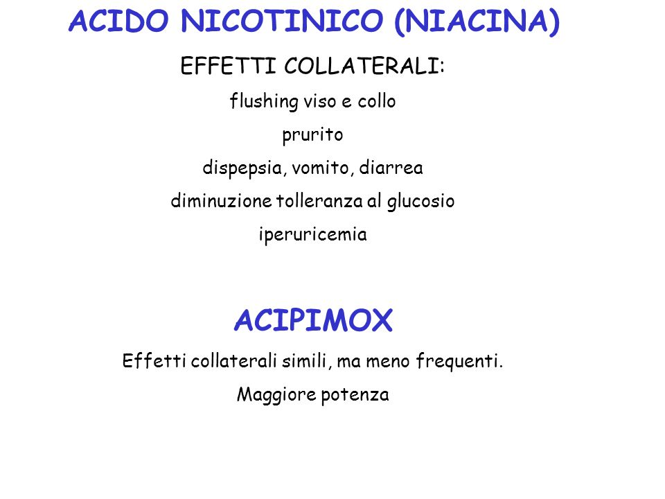 ACIDO NICOTINICO (NIACINA)