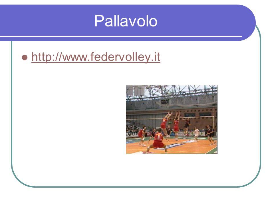 Pallavolo http://www.federvolley.it