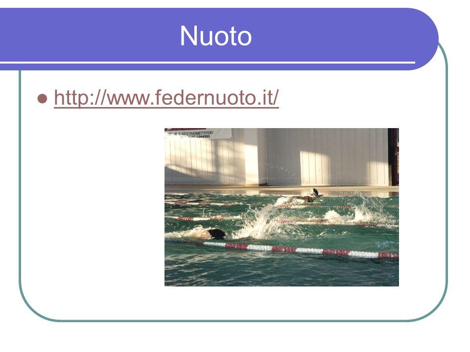 Nuoto http://www.federnuoto.it/