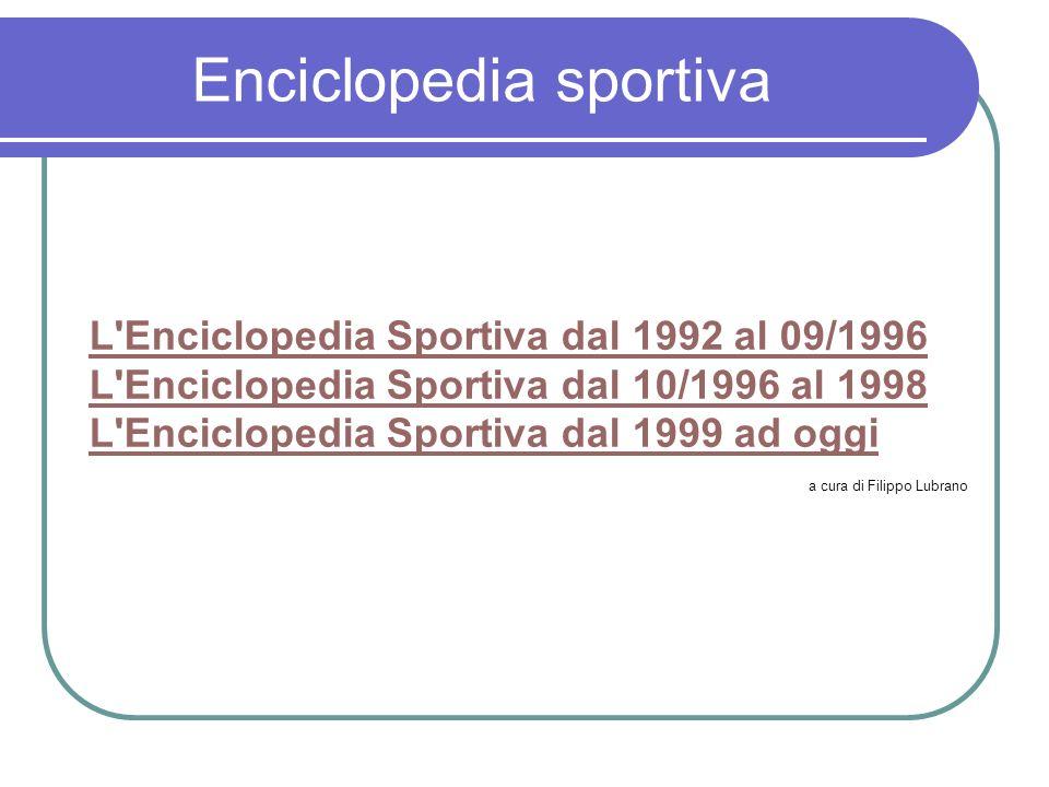 Enciclopedia sportiva