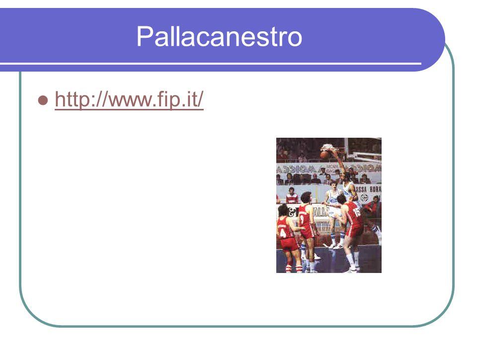 Pallacanestro http://www.fip.it/