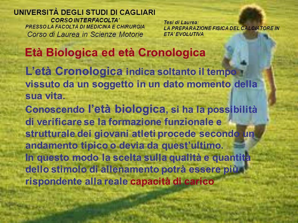 Età Biologica ed età Cronologica