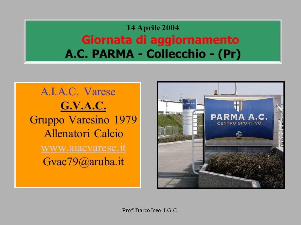 14 Aprile 2004 Giornata di aggiornamento A. C