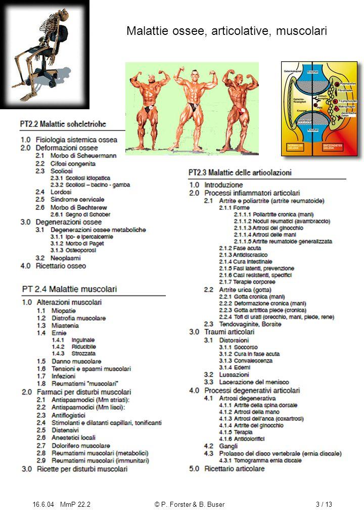 Malattie ossee, articolative, muscolari