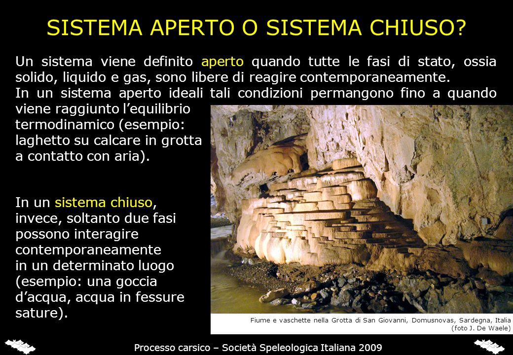 Processo carsico – Società Speleologica Italiana 2009