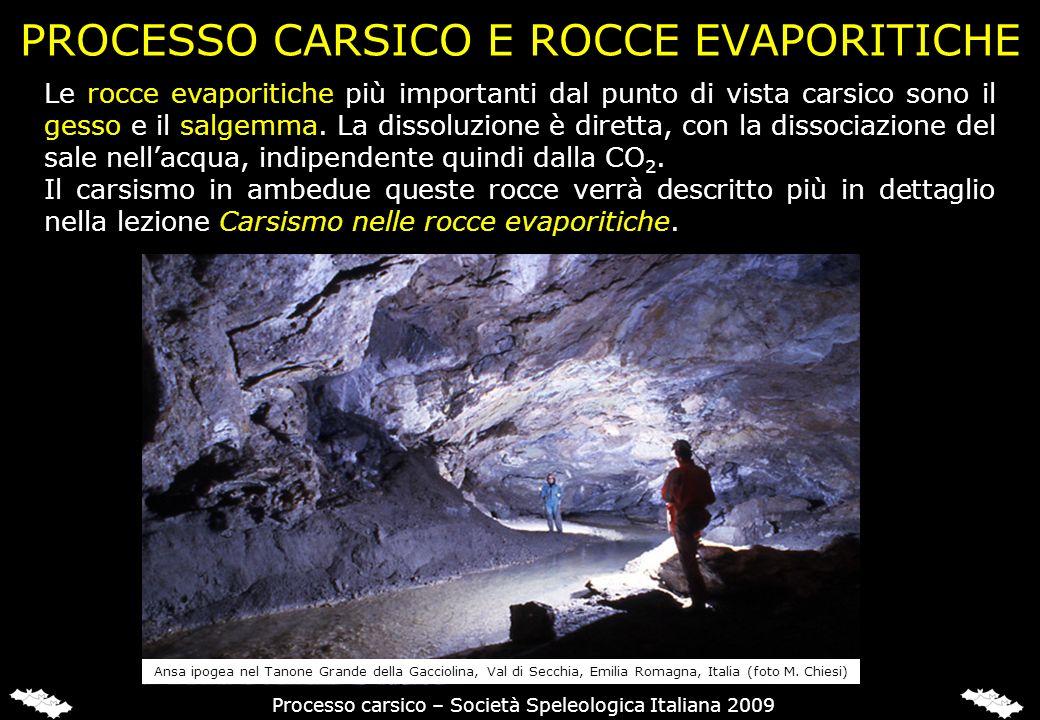 PROCESSO CARSICO NEL SALGEMMA
